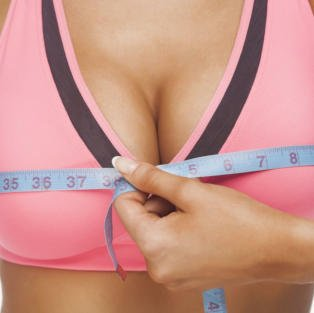 measuring the breast